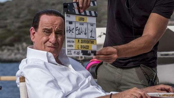 Mirá las primeras imágenes del biopic de Silvio Berlusconi