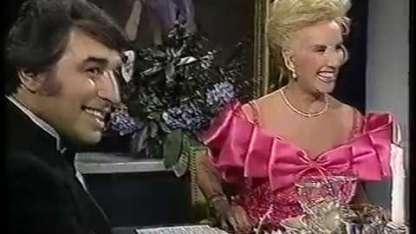 """El momento en que Sandro se confesó con Mirtha Legrand: """"Soy terriblemente violento"""""""