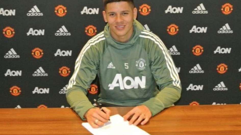 Marcos Rojo amplia su contrato con el Manchester United