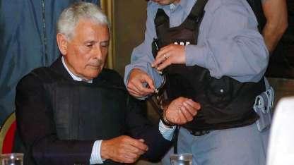 Debido a su estado de salud, el 27 de diciembre pasado la Justicia le concedió el beneficio de la prisión domiciliaria.