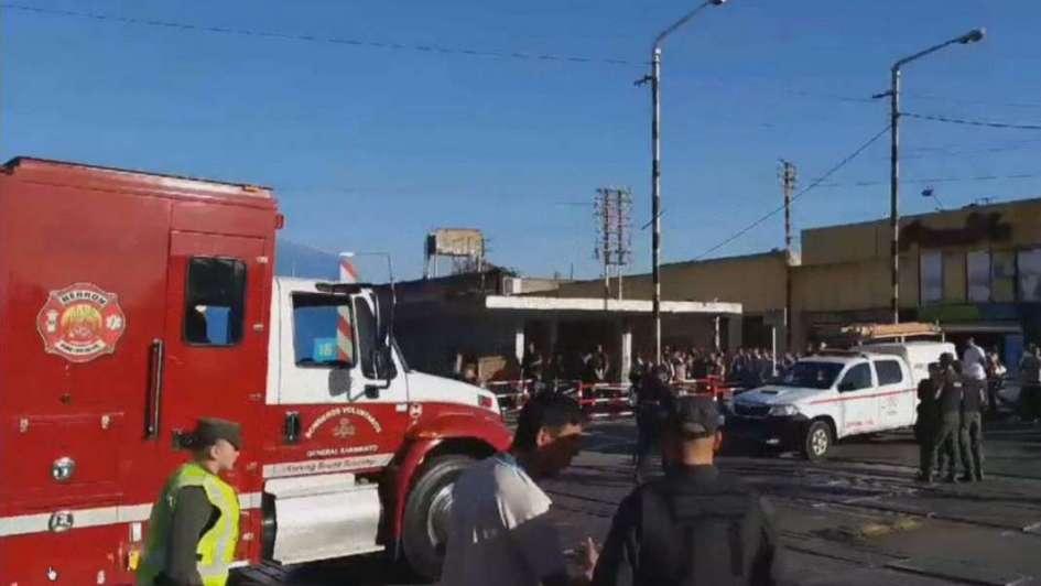 Detuvieron a dos hermanos por robar 200 mil pesos del camión de caudales que chocó en San Miguel