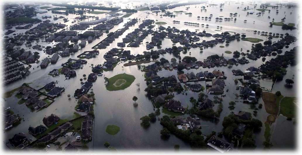 Grandes inundaciones ¿Qué porciones de tierra estarán bajo el agua dentro de veinte años?