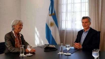 Lagarde elogió los cambios operados y Macri se mostró cauteloso pero dejó la puerta abierta para futuros créditos.