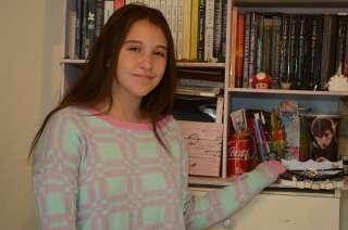 """Lara ha comenzado en el DAD. Su mamá destaca que desde chica tuvo inclinaciones literarias: """"Adora los libros"""", dice."""