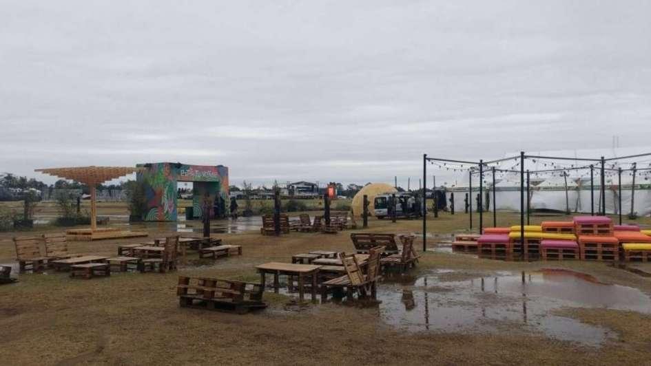 Resultado de imagen para lollapalooza argentina lluvia