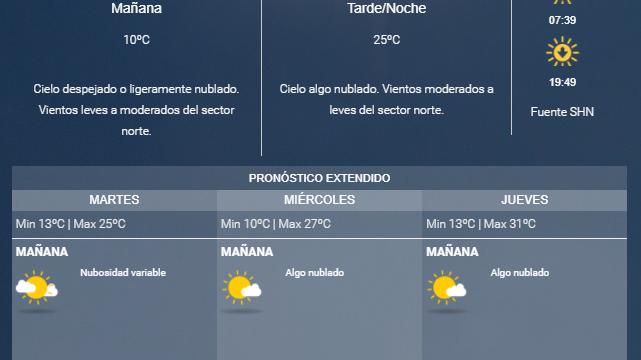 Llegan las temperaturas de otoño a la provincia de Mendoza