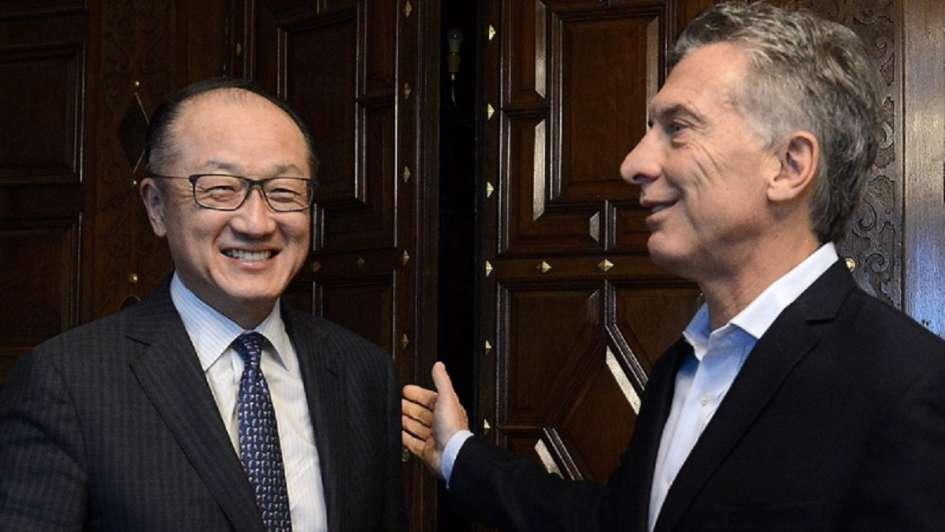 Mauricio Macri recibe al presidente del Banco Mundial en la Casa Rosada