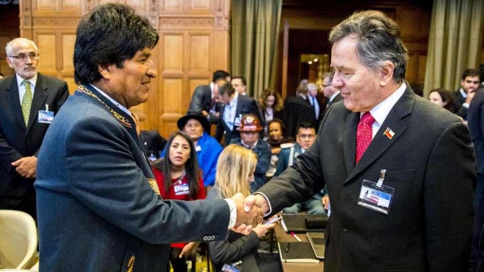 Los argumentos de Chile refuerzan los de Bolivia — Llorenti