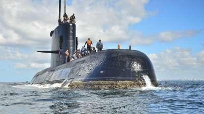El submarino habría estado realizando tareas de inteligencia cerca de las Malvinas.