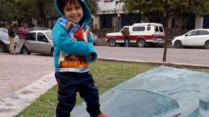 Alexis Mamaní (3) apareció muerto en un río de Jujuy.