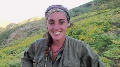 Alina Sánchez había adoptado el nombre kurdo de Legerín Ciya.
