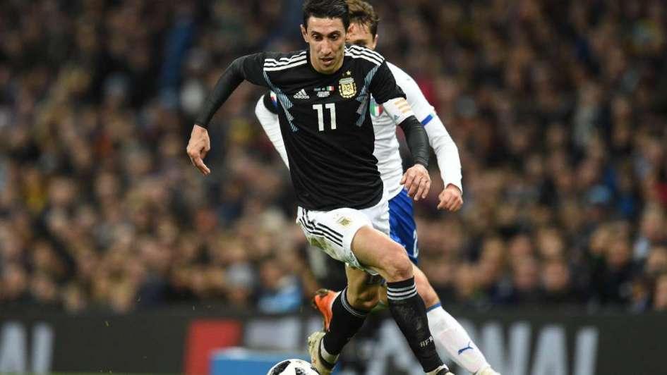 Sufre lesión Di María y no jugará ante España