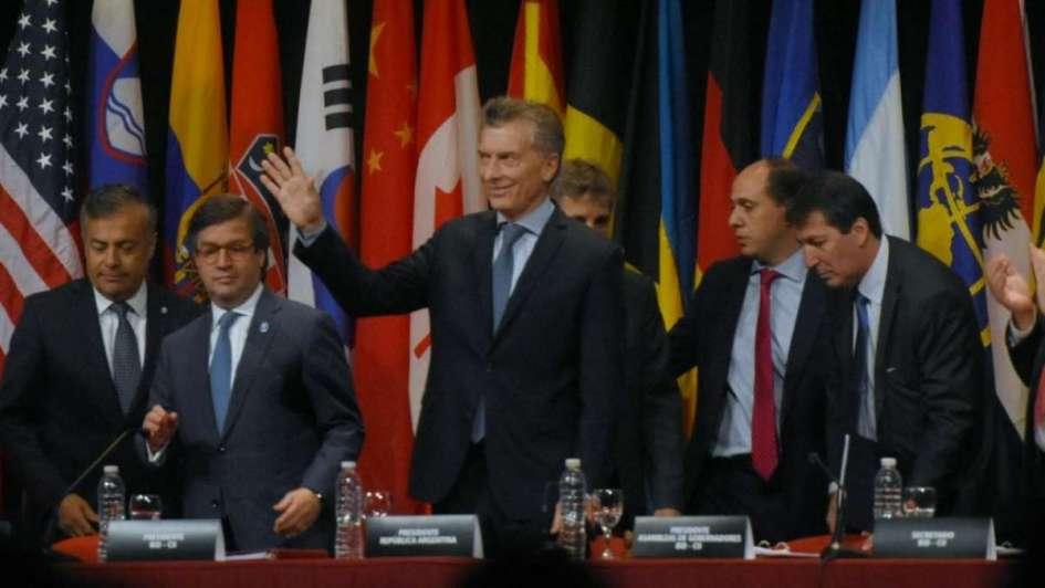 Macri, en Mendoza:
