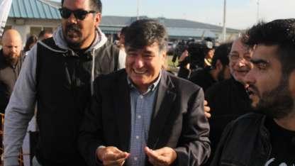 Zannini salió de la cárcel de Ezeiza esta mañana.