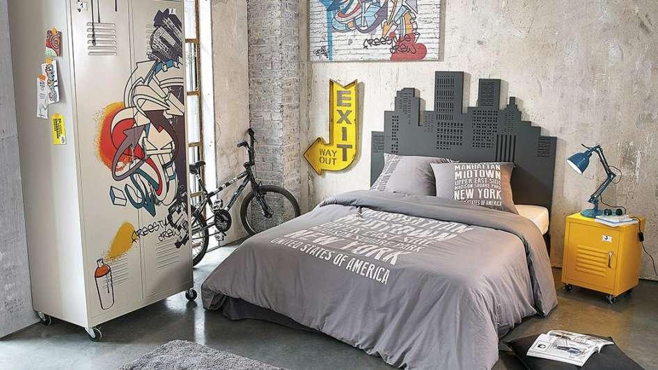 Convertir un dormitorio juvenil en un refugio para compartir - Habitaciones juveniles con estilo ...