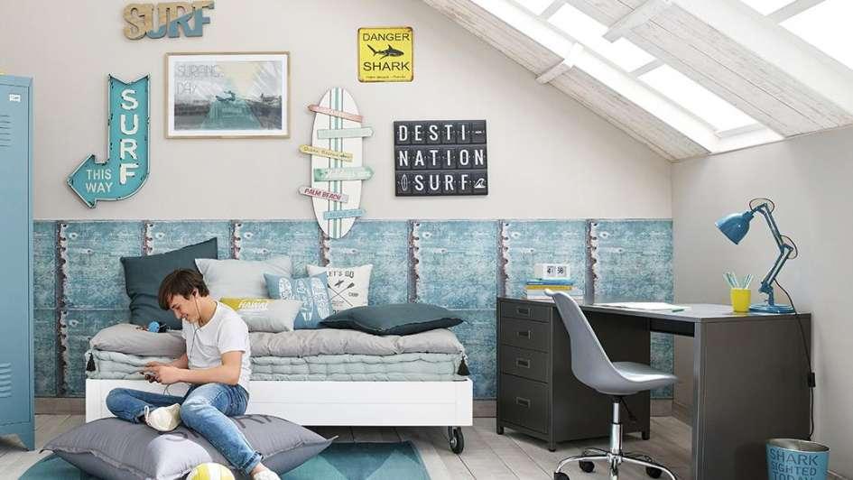 Convertir un dormitorio juvenil en un refugio para compartir for Disenar habitacion juvenil online