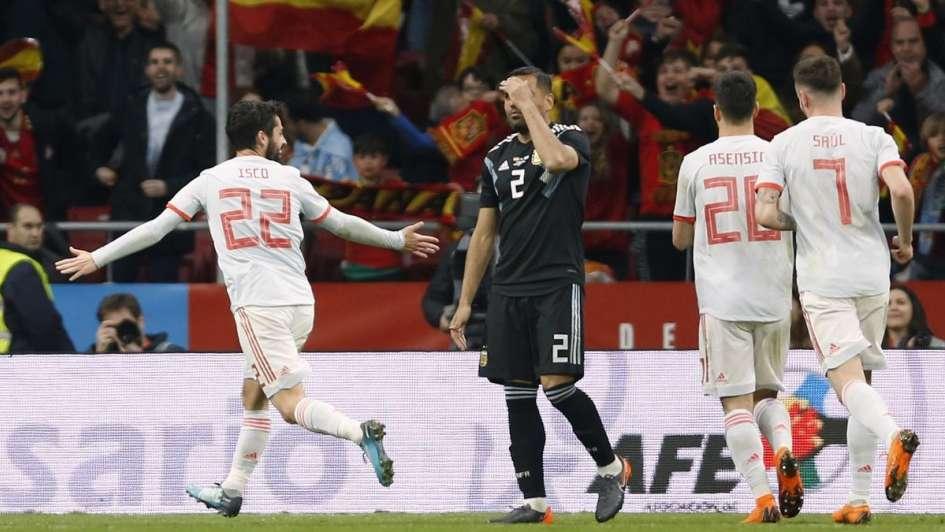 Papelón Mundial: España humilló a una Argentina sin rumbo en Madrid