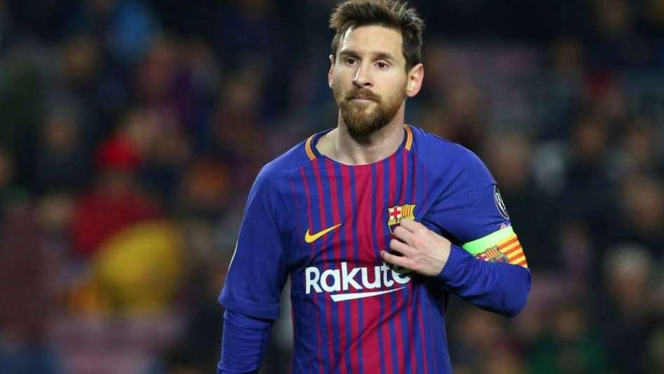 Messi entrena al margen del Barcelona por molestias