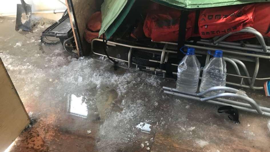 Advierten que corre peligro un refugio del Aconcagua