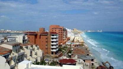 Cancún sigue siendo el destino favorito del turismo internacional; 6,2 millones de personas llegaron en avión el año pasado.