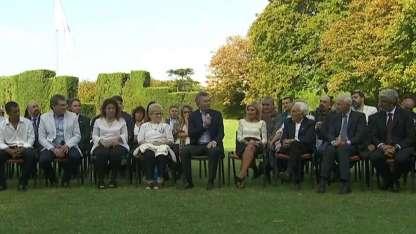 Macri recibió a familiares de caídos y ex combatientes.