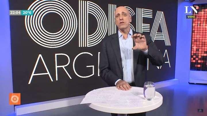 El periodista Carlos Pagni, contra Mirtha Legrand y Natacha Jaitt