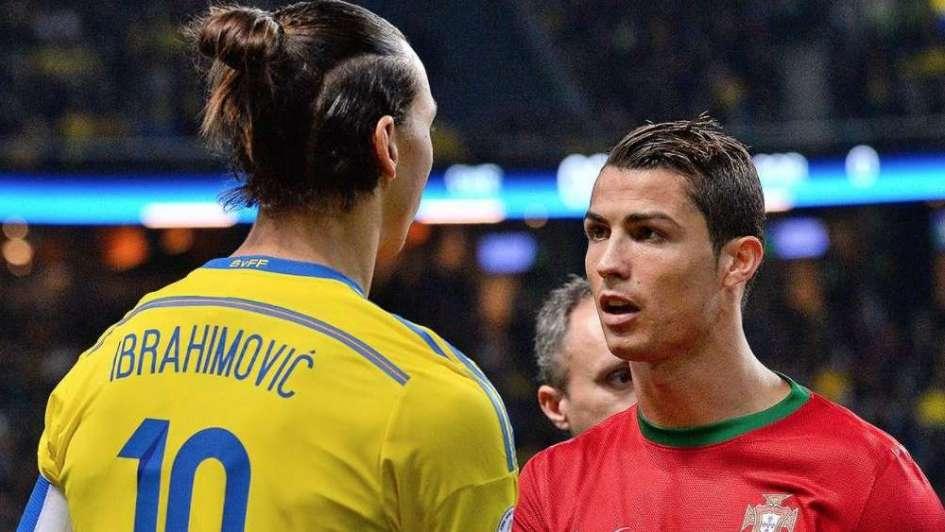 Para vos, Cristiano: qué dijo Zlatan de la súper chilena del luso
