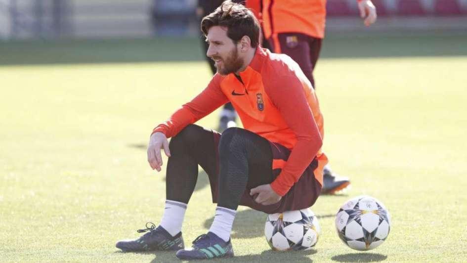 Messi podría estar en el banco de suplentes mañana ante Leganés