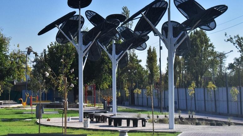 Godoy Cruz tiene la primera plaza solar del país