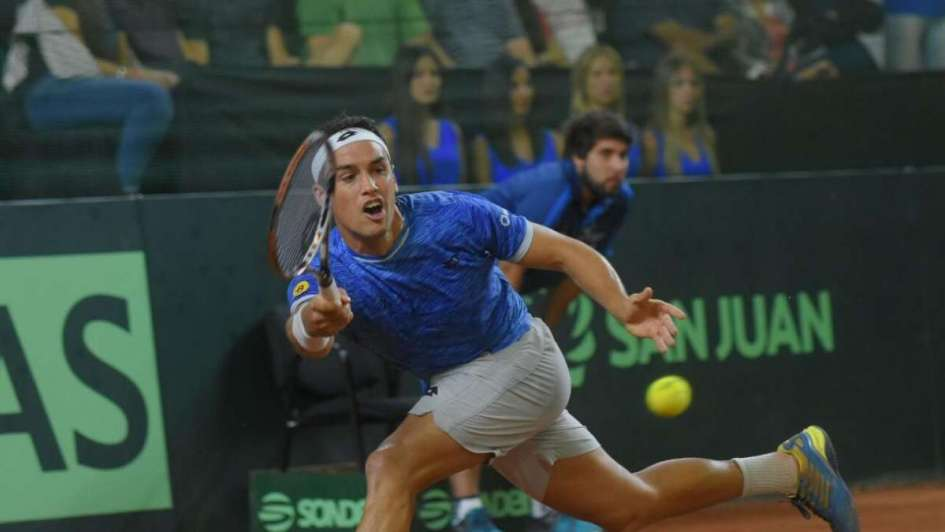 Copa Davis: Jarry se lo dio vuelta a Kicker y le dio el primer punto a Chile