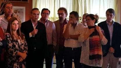 Miguel Pichetto y Graciela Camaño encabezaron el encuentro de referentes del PJ.