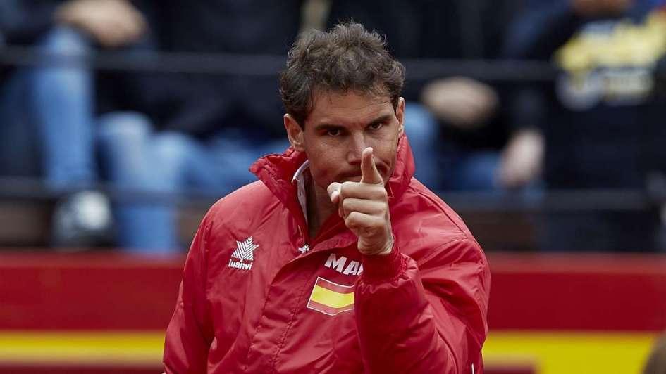 Ferrer mete a España en semifinales de la Davis