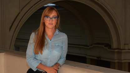 La diputada kirchnerista Anabel Fernández Sagasti.
