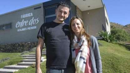 Ariel y Constanza están casados y entraron juntos al mundo empresarial.