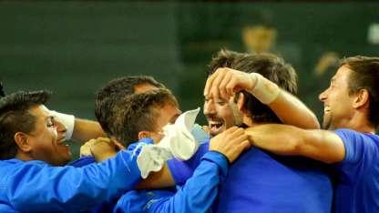 El triunfo ante los chilenos, el último fin de semana, fue muy festejado por el equipo de Orsanic.