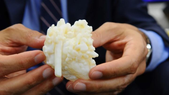 Corazones impresos en 3D