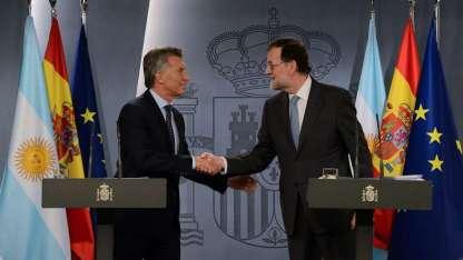 Macri se reunirá mañana en Buenos Aires con el presidente del Gobierno de España, Mariano Rajoy.