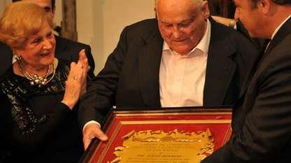 Enzo Bianchi, durante un homenaje realizado en 2010.