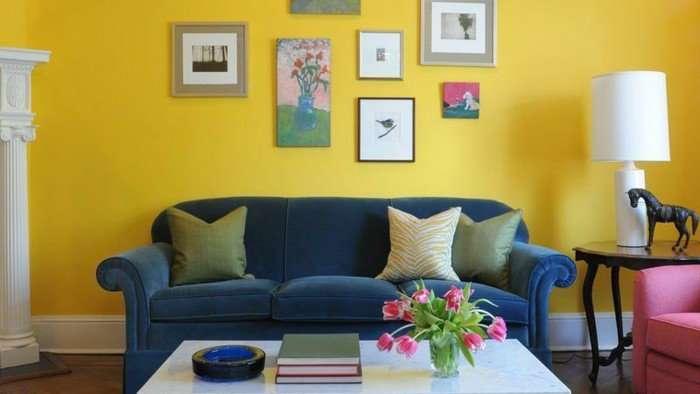 Miles de deco ideas para usar el amarillo mostaza en todos tus espacios