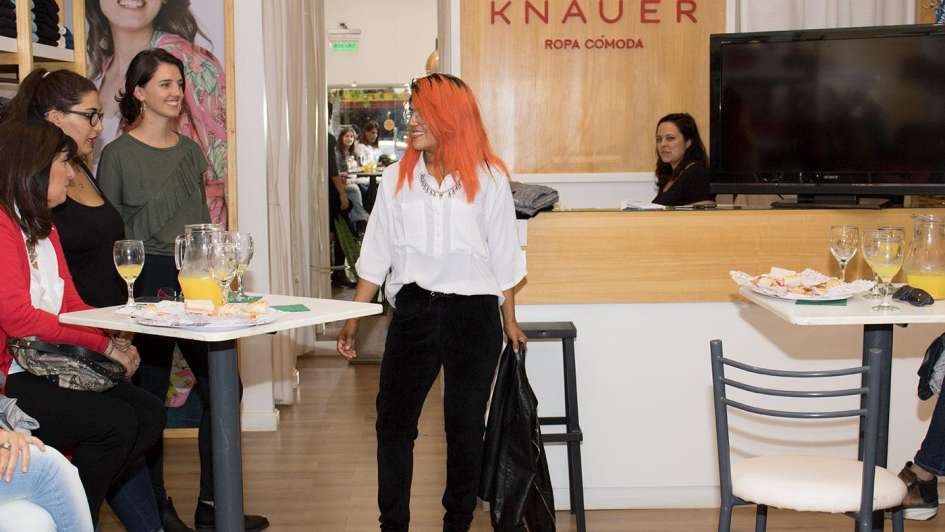 Knauer presentó su colección otoño-invierno 2018