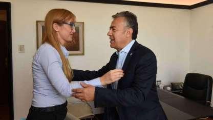 El encuentro entre Fernández Sagasti y Cornejo.