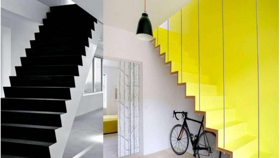 Ideas geniales para decorar tus escaleras de forma súper creativa
