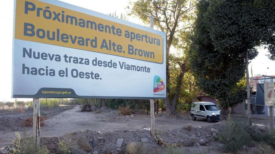 La postergada calle Almirante Brown de Luján será por fin ensanchada