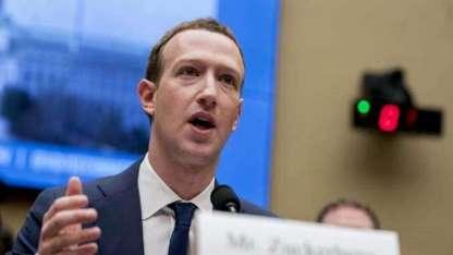El CEO de Facebook, Mark Zuckerberg, testifica.