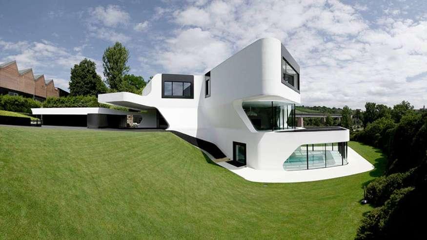 Asombrosas casas futuristas