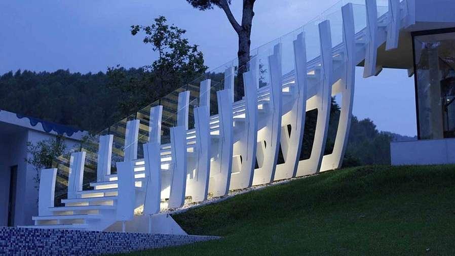 Arquitectura futurista para asombrarse