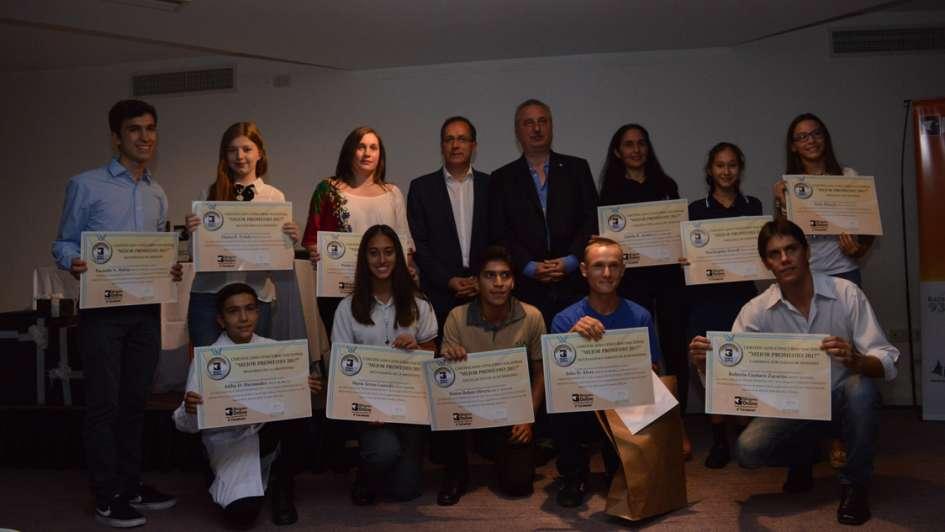 Un alumno de una escuela rural de Mendoza fue elegido como el mejor estudiante del país