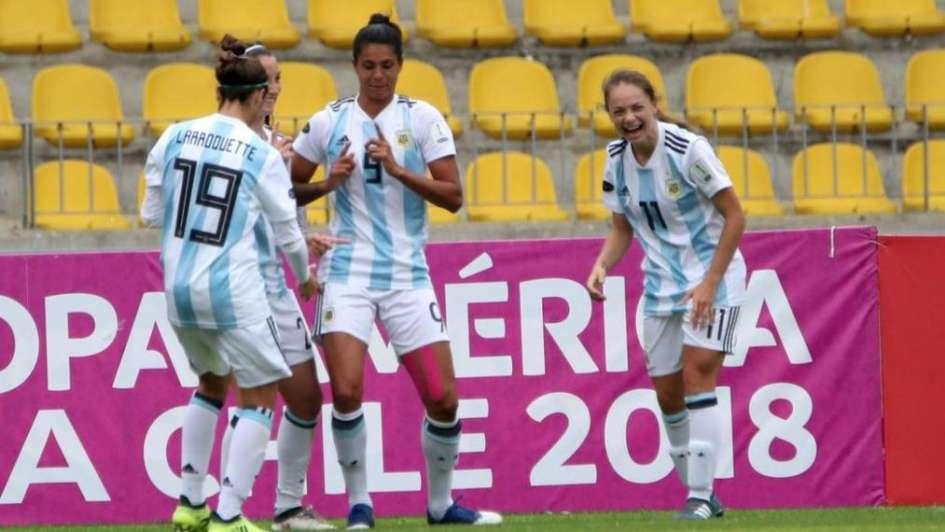 Copa América 2018: la mendocina Banini fue figura en la clasificación albiceleste