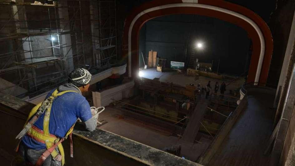 Quieren reabrir el teatro Mendoza dentro de un año
