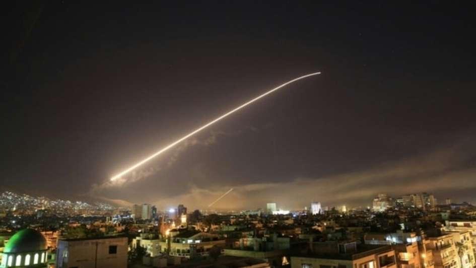 Estados Unidos, Francia y Reino Unido lanzaron un ataque sobre Siria